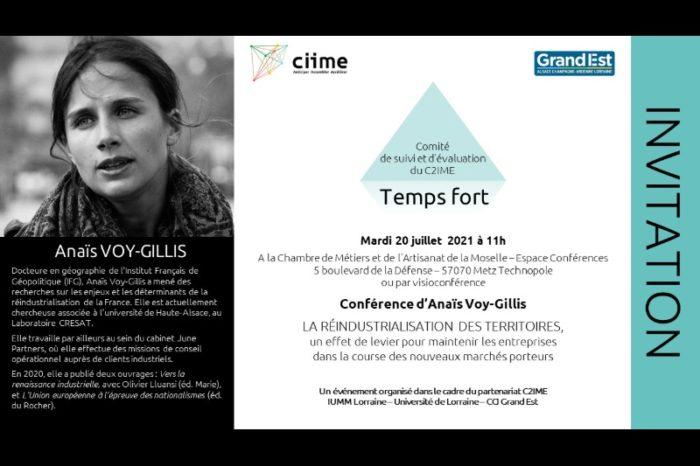 Conférence Anaïs Voy-Gillis