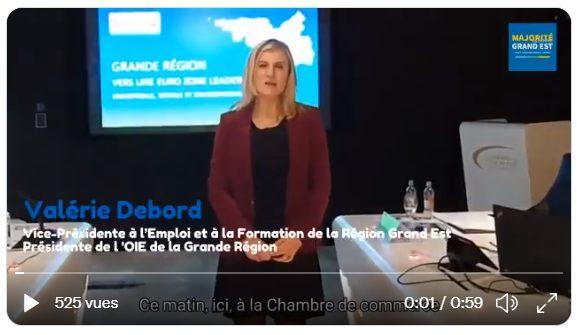 Valérie Debord, euro-accélérateur
